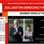 Bollington Labour Members Newsletter Summer 2019