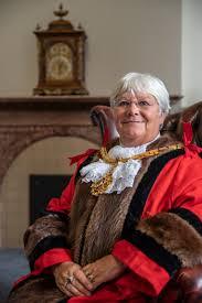 Cllr and 2019 Mayor Janet Jackson MBE