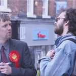 Neil with Commuter in Macclesfield