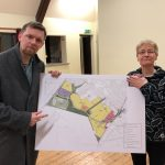 Neil and Fiona at Public Meeting