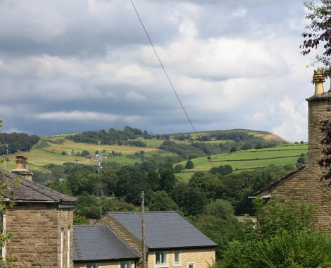 Peak District view at Bollington