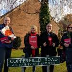 Campaigning in Poynton
